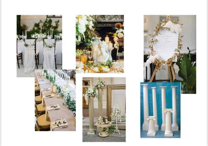 Porta alianzas para boda griega - 1
