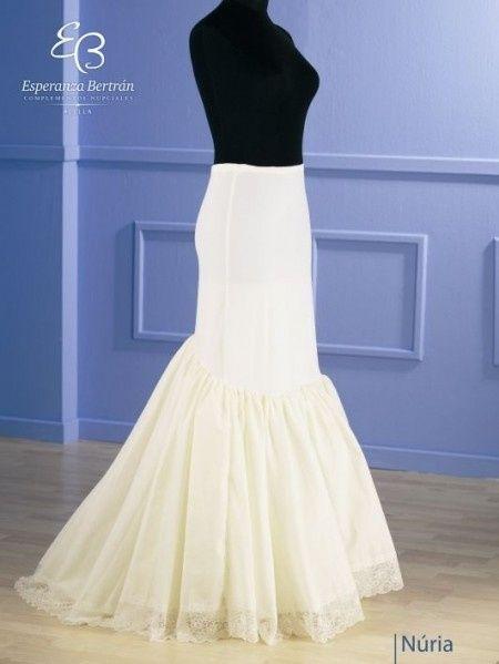 busco cancan para mi vestido de novia estilo sirena - moda nupcial