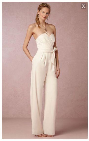 Imagenes de vestidos de novia con pantalon