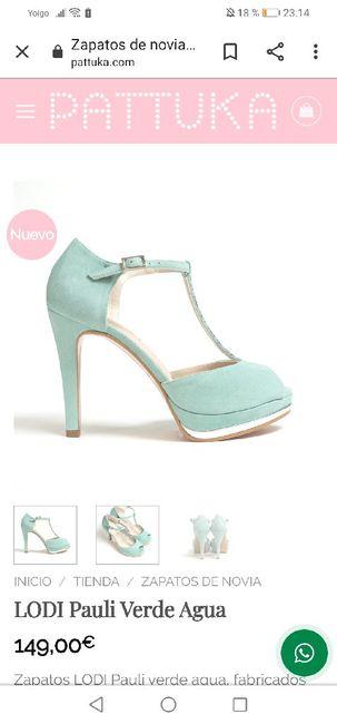 Zapatos de novia de colores 7