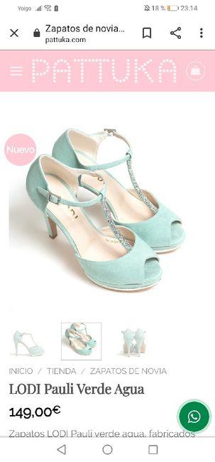 Zapatos de novia de colores 8