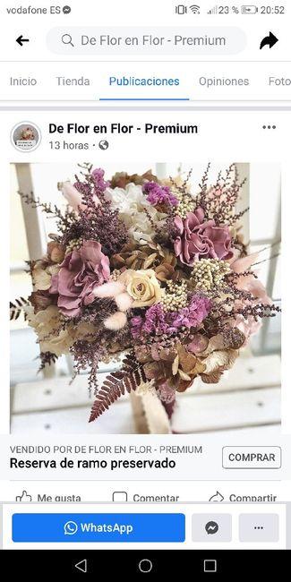 De flor en flor-ramos flores preservadas 4
