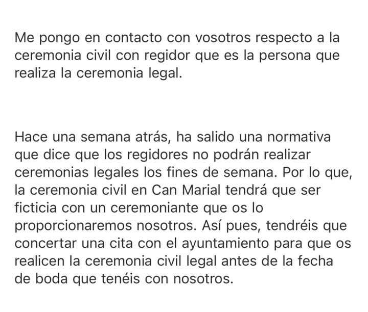 Ceremonia civil legal - 1