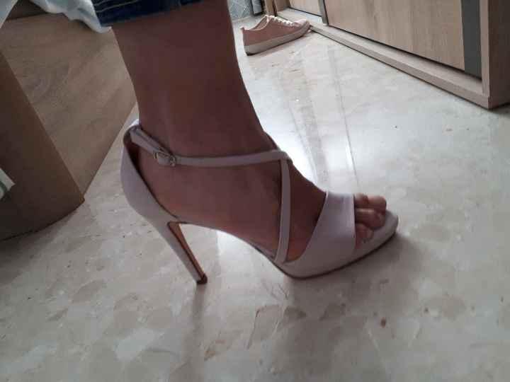 Zapatos de novia color vs blancos - 1