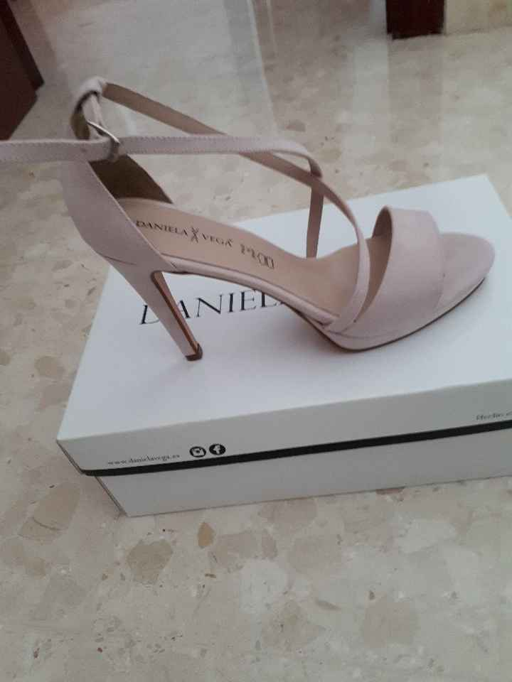 Zapatos de novia color vs blancos - 2