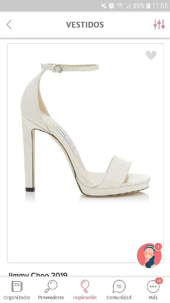 Sandalias de novia - 1