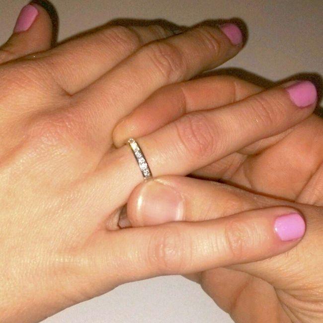 ff232fd34b85 Pongamos todas nuestro anillo de compromiso - Organizar una boda ...
