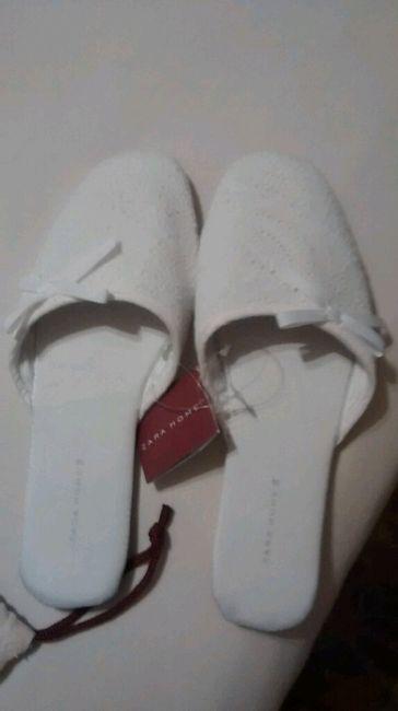 Zapatillas de casa blancas online - 1