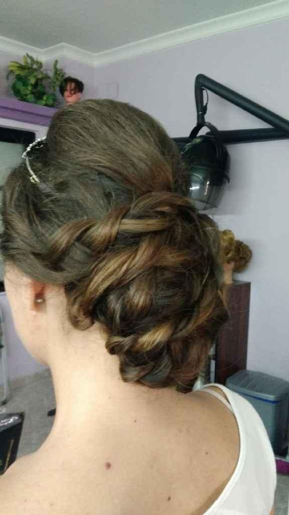 Duda prueba de peluquería - 2