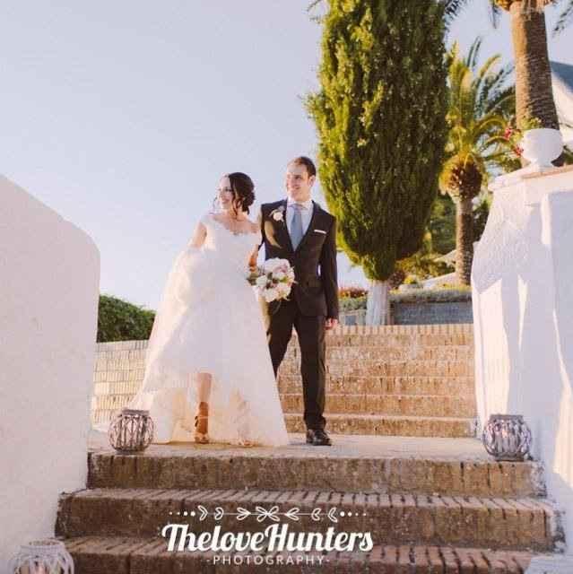 Pongamos nuestras fotos de novia!!!! - 2