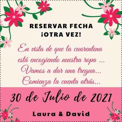 Invitación boda online coronavirus - 1