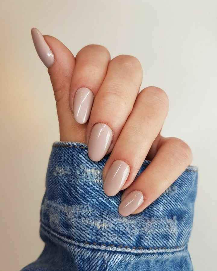 Centro de uñas para esmaltado semi natural para la boda - 2