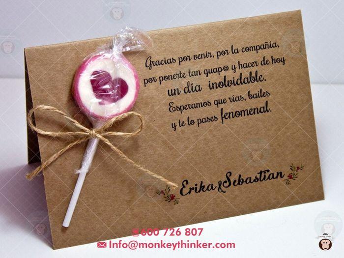 Plantilla agradecimiento - Manualidades - Foro Bodas.net