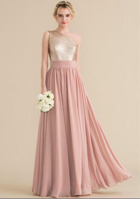 Alguien con damas de honor y este color? 1