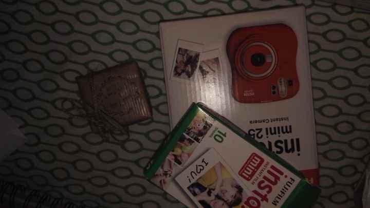 fujifilm y muestra regalo