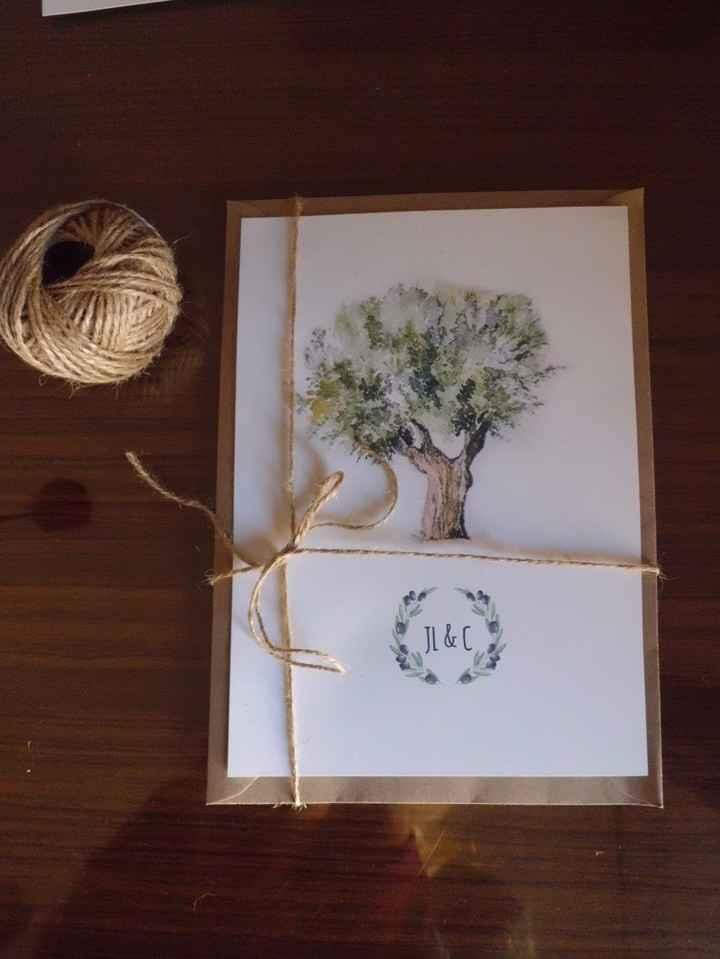 Invitación olivo 2