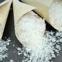 confeti falso nieve para bodas de invierno