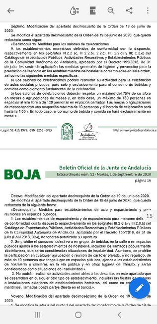 Medidas Andalucía 1