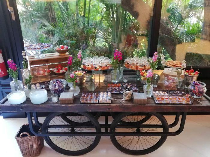 Mesas dulces y cigar bar!! - 1