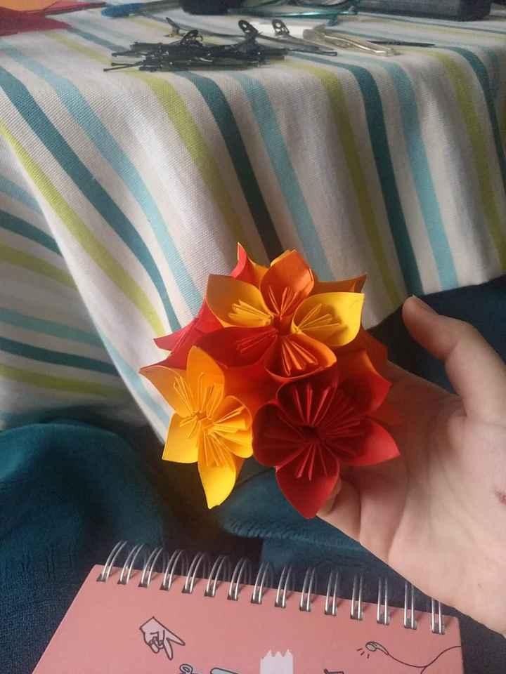 Kusudama y otras flores! - 2