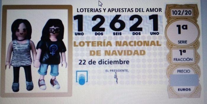 Regalo participación lotería 1