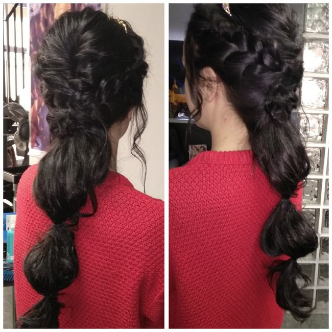 Prueba de peinado superada!! 😍 - 1