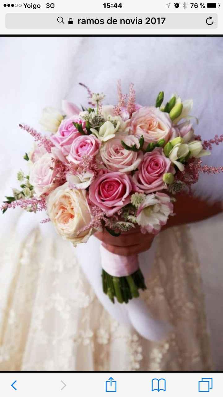 Ramos de novias casadas y futuras - 1