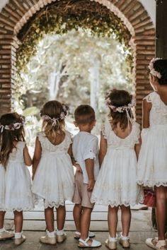 Damitas y pajes de boda 1