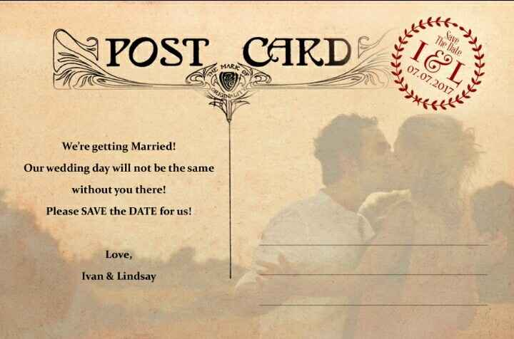 Nuestro save the date! - 2