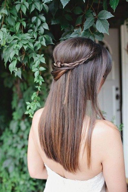 10 Peinados Para Novias Con El Pelo Lacio Foro Belleza Bodas Com Mx