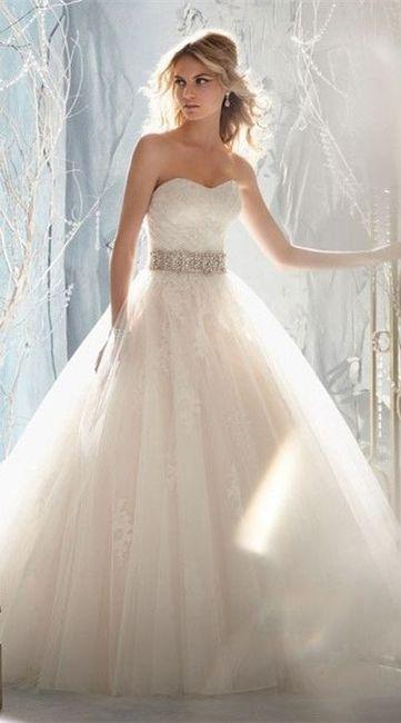 vestido de novia clásica