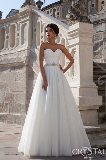 ec8973f72e 10 vestidos de novia Crystal Design 2015 - Moda nupcial - Foro Bodas.net