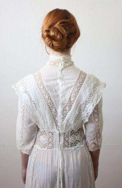 vestidos de novia años 10
