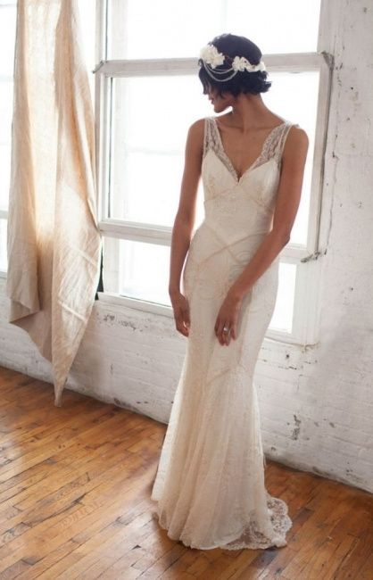 vestidos de novia 1930