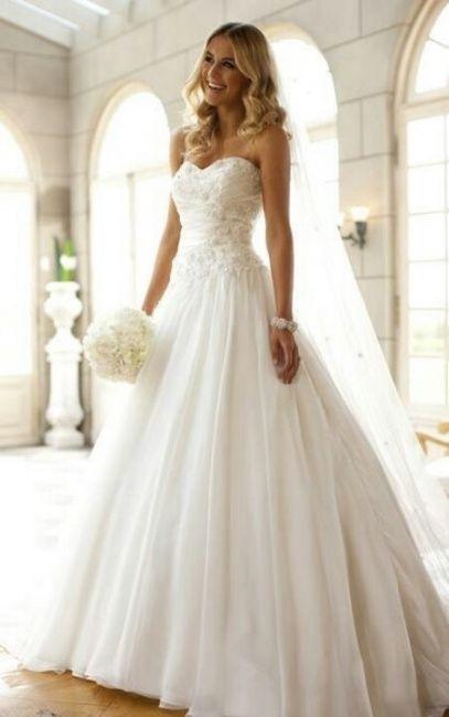 vestidos de novia 2000