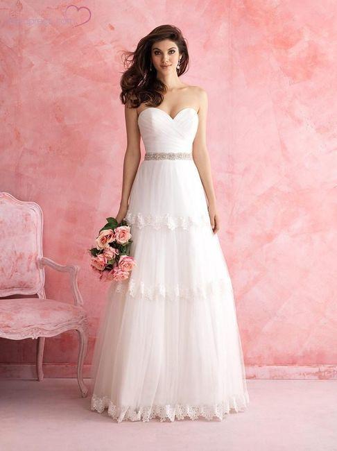 20 vestidos para novias románticas - Moda nupcial - Foro Bodas.net