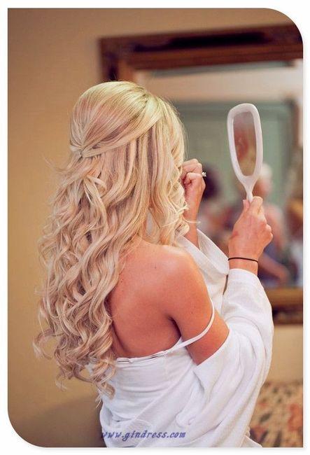 Peinados matrimonio playa