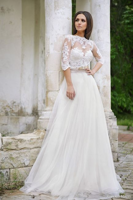 15 vestidos de novia para una boda rústica - moda nupcial - foro