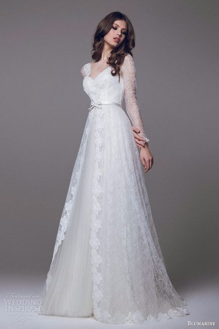 Vestido novia para boda vintage