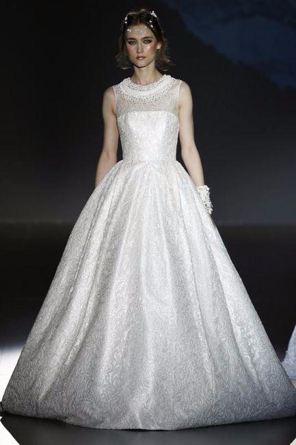 el mejor vestido de novia de jesús peiró 2016 es - moda nupcial