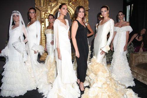 un look de novia muy flamenco!! - moda nupcial - foro bodas