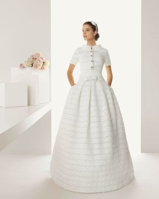 Vestidos de novia para boda en diciembre