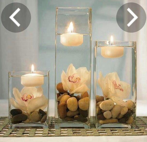 Ideas geniales para decorar con velas organizar una boda - Ideas para decorar velas ...