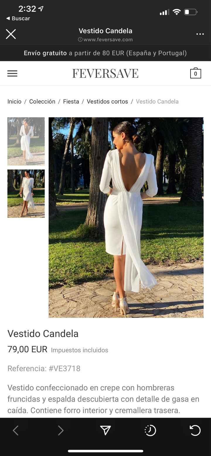 Vestido ceremonia civil - 1