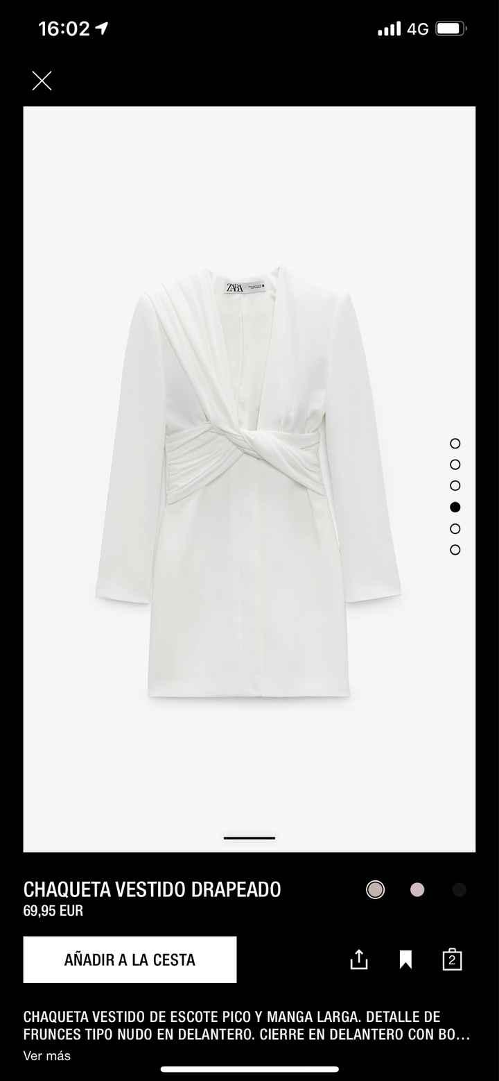 """¿Qué os parecen los """"vestidos"""" de novia de Zara? - 1"""