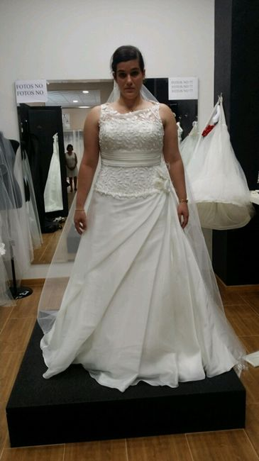Mi vestido de novia no me gusta