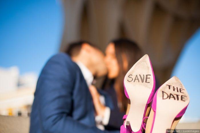 La fecha de mi boda es _____ 1
