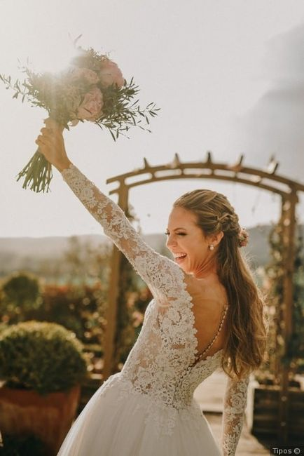 ¿Qué harás con tu ramo de novia? 1