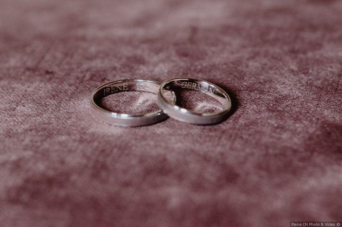 A 24h de la boda, ¡escoge tus alianzas! 💍 2