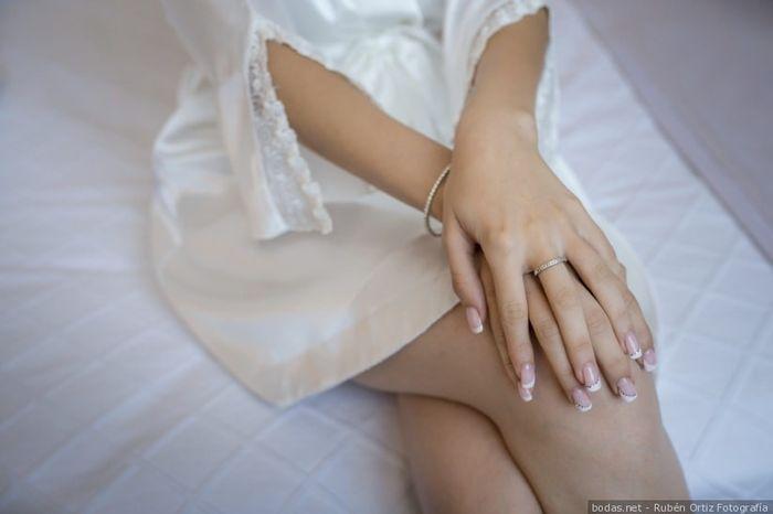 2 estilos, 1 novia: La manicura 1